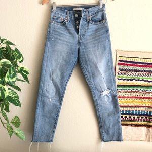 Levi's Wedgie Skinny Jeans size 24
